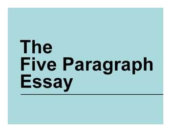 Good introductory paragraph for essay
